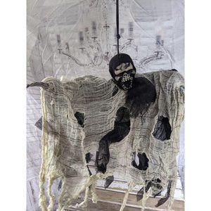 Hanging mini grim reaper table Halloween prop